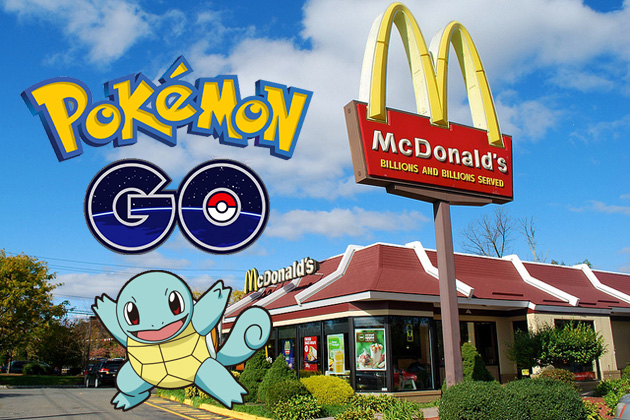 Pokemon GO McDonald's Partnership