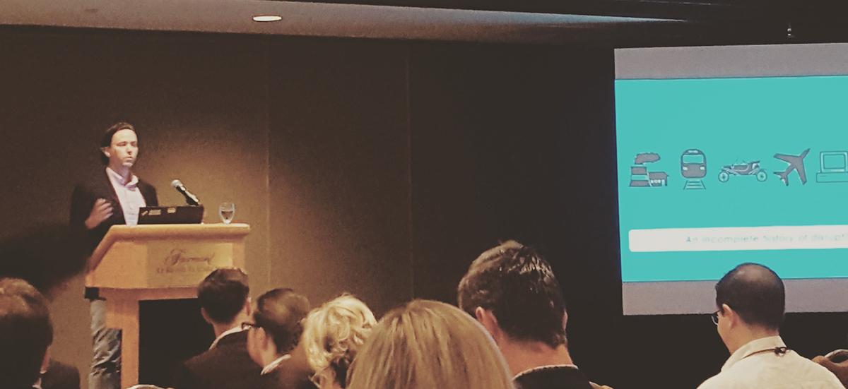 Michael Dorr MRIA Presentation